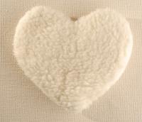"""Игрушка-грелка с наполнителем из косточек вишни """"Сердце"""", 28 см"""