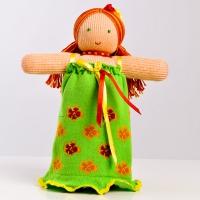 """Вязаная кукла """"Фея цветов"""""""